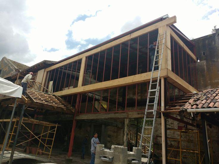 Remodelación de Hacienda tejalpa estado d México, toluca