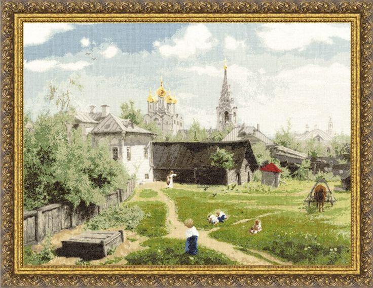 ПФ-010 Московский дворик (Поленов В.Д.)