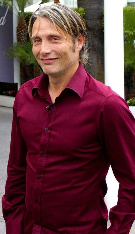 Mads Mikkelsen. I have a shirt that color, but I don't think I look as good in…