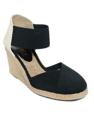 Lauren by Ralph Lauren Shoes, Charla Espadrilles - Espadrilles & Wedges - Shoes - Macy's