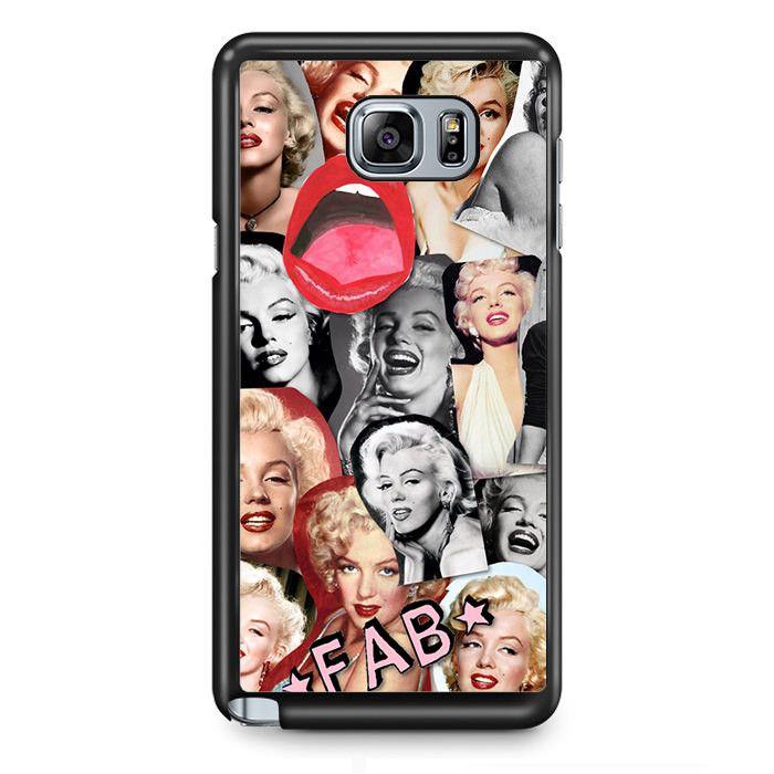 Merlyn Monroe TATUM-7037 Samsung Phonecase Cover Samsung Galaxy Note 2 Note 3 Note 4 Note 5 Note Edge