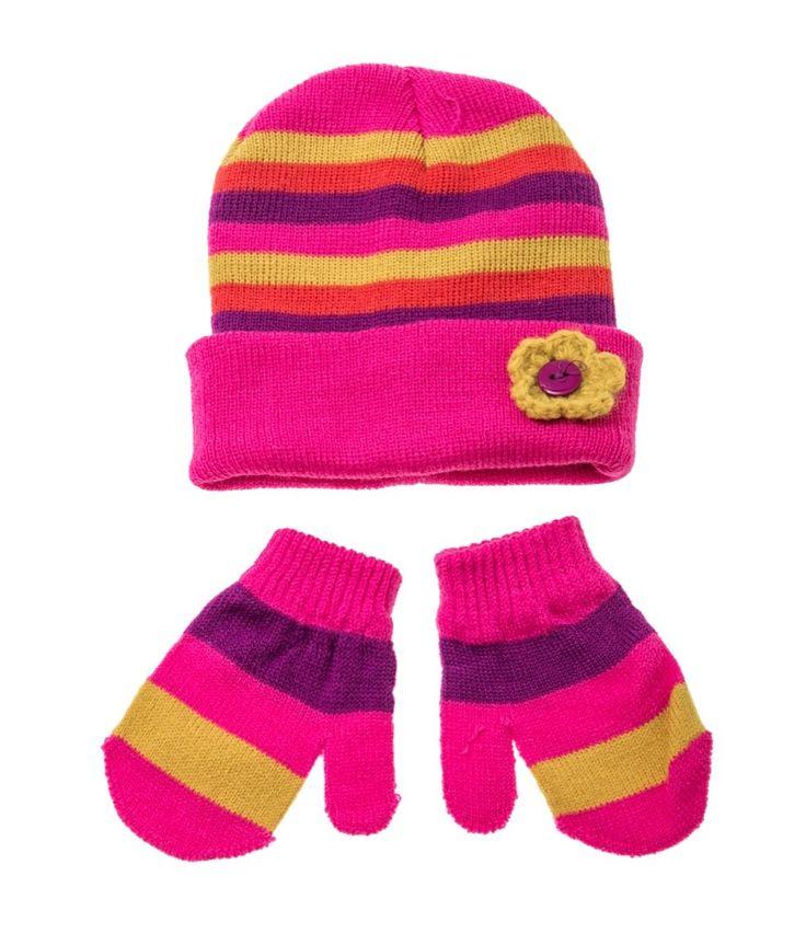 Rock A Bye Baby βρεφικό σετ σκουφάκι-γάντια «Warmest»  €4,90