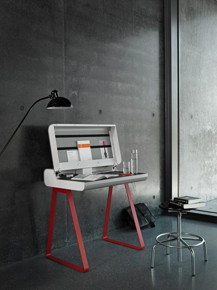 #PC secretary #desk PS 08 by Müller   #design Peter Lippert #work