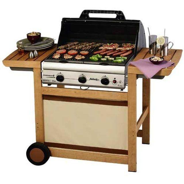 Barbecue Plancha A Gaz