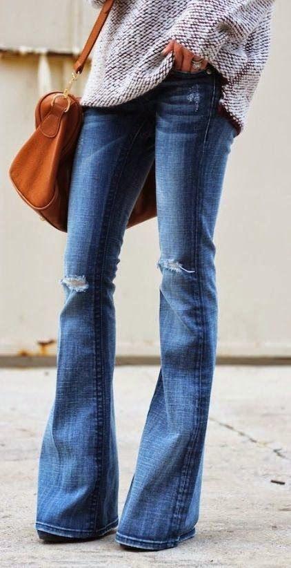 LOOK A DAY   CONSULTORIA DE IMAGEM & COACHING FEMININO: Jeans flare ou à boca-de-sino - elas estão de volta ou nem foram a lado nenhum mesmo!