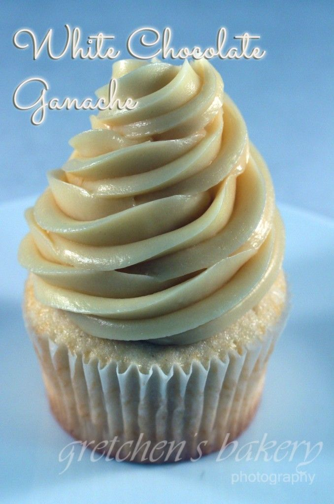 This white chocolate ganache recipe is one you will want to bookmark and add to the archives. It is so very versatile since it can be piped as you see on my cupcake here, but also used as a glaze for cakes and pastries just as you would regular chocolate ganache. but wait! it gets …