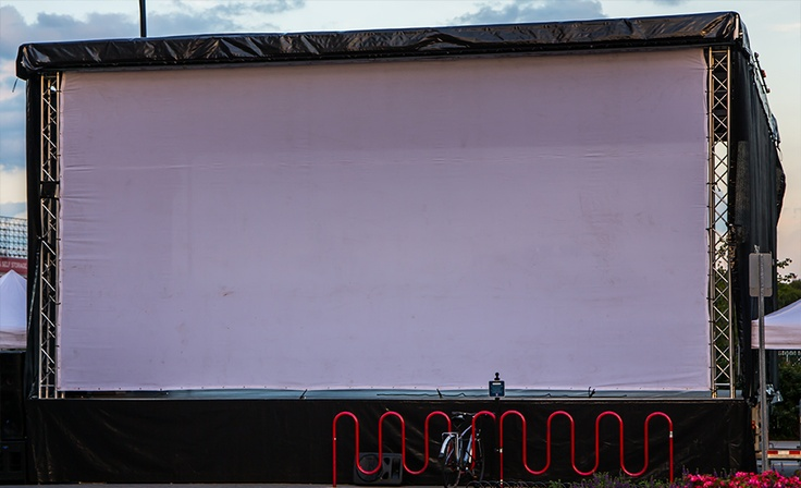 30x15 Movie Screen XXL Mobile Stage