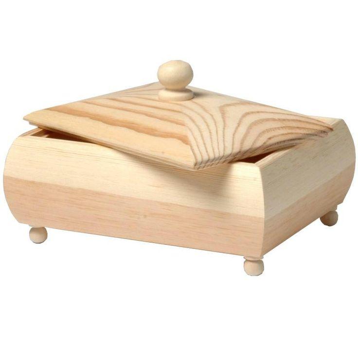 Compra nuestros productos a precios mini Cofre de madera 17 cm - Entrega rápida, gratuita a partir de 89 € !