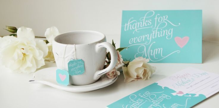 Mother's Day Printables - Upon A Time Designs - Tea Bag Tags - Gift Voucher