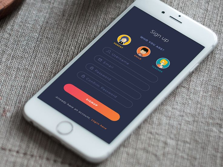 Sign up   Mobile ui, Ui design and Mobile app