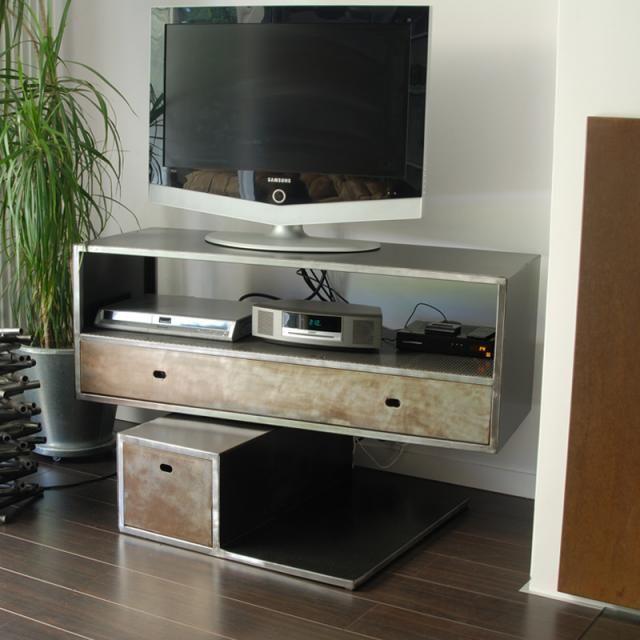 Les 25 meilleures id es de la cat gorie meuble tv suspendu sur pinterest me - Bahut suspendu design ...