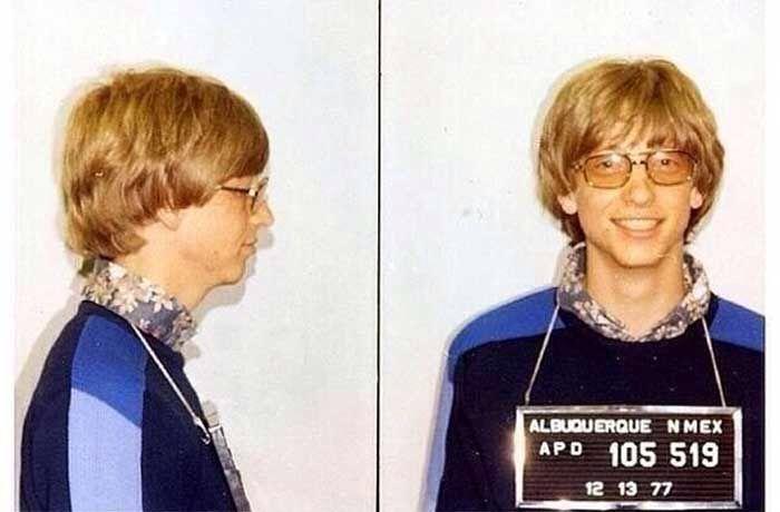 Bill Gates gets hauled in for speeding