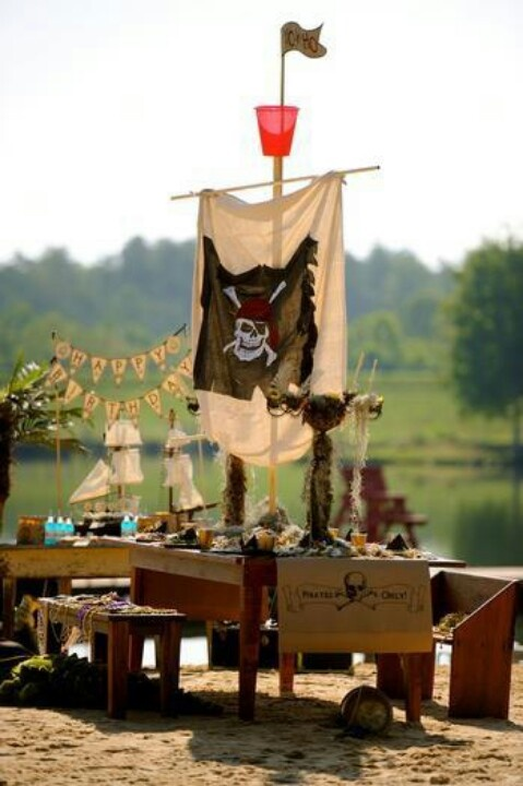 Pirate party - wow!