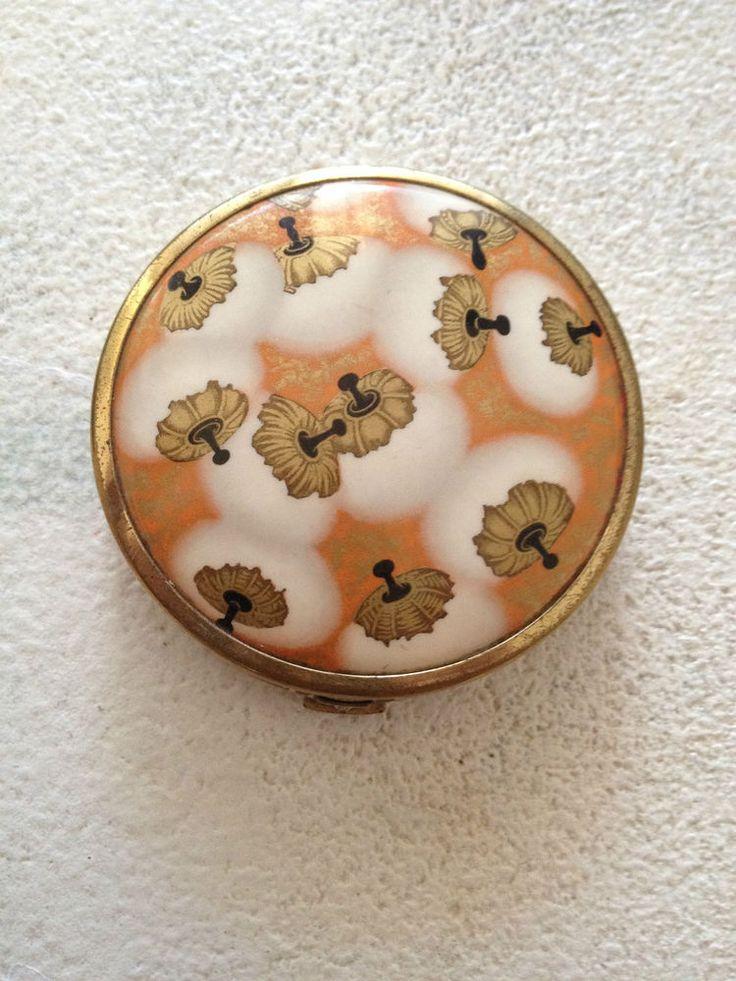 AUTHENTIQUE Ancien Poudrier COTY Paris / Poudre de Riz / ART DECO - VINTAGE in Art, antiquités, Objets du XIXème, et avant | eBay