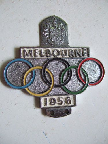 Melbourne Olympics 1956..the year we got television in Australia