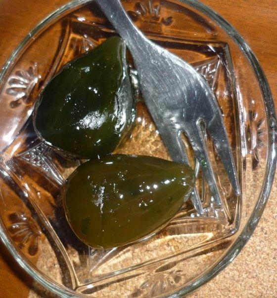 """Τraditional """"dessert of spoon"""" figs in syrup from Chios Island, oh my!!!"""