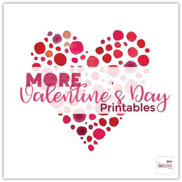 More Valentine's Day Printables