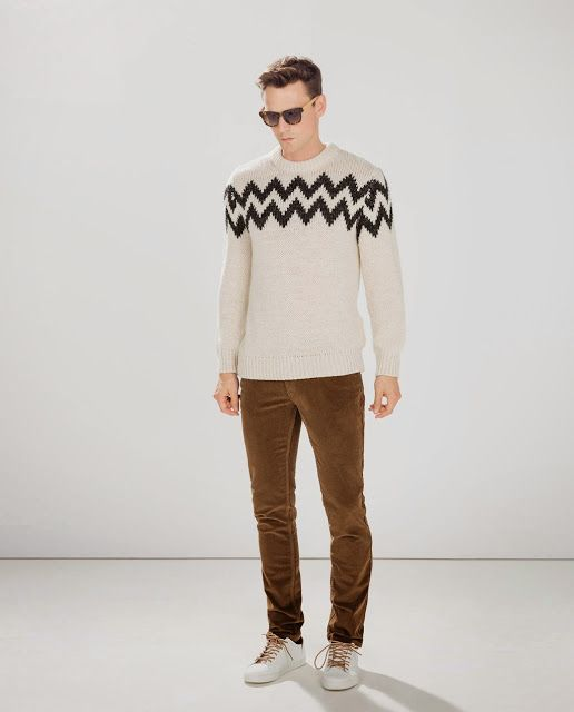 Cultures Hommes: Pantalon velours Zara