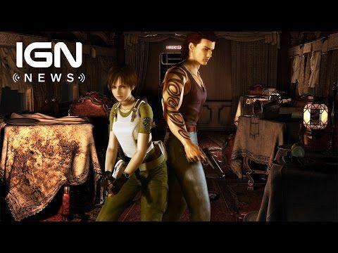 Capcom Reveals Resident Evil Zero HD Remaster - IGN News - YouTube