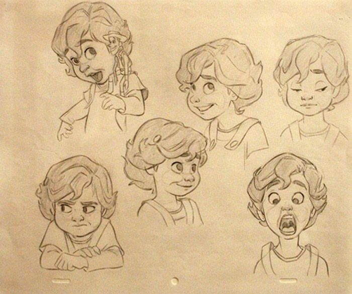 Living Lines Library: Toy Story 3 (2010) - Character Design