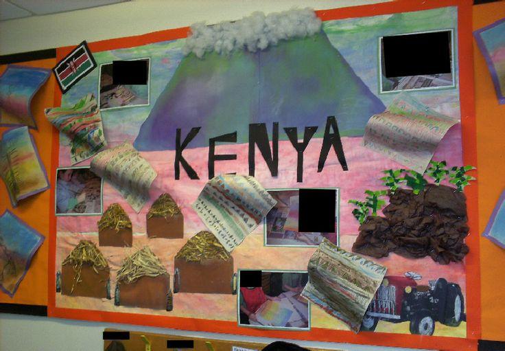 Kenya classroom display photo - Photo gallery - SparkleBox