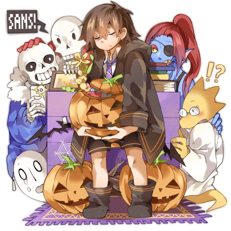 【undertale LOG4】Halloween