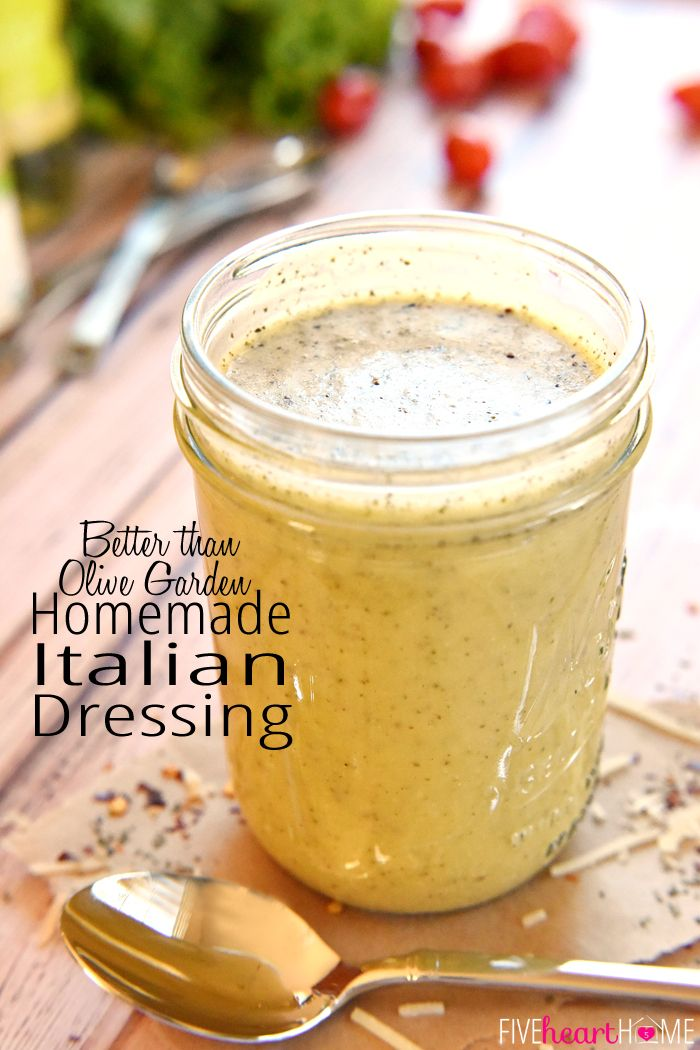 Homemade Italian Dressing