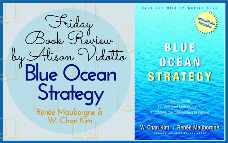 This book talks about using innovation rather than aggression to compete in the market place. It is full of fresh and interesting ways to look at your business strategy.  http://www.pushbusinesstraining.com/book-review-blue-ocean-strategy-w-chan-kim-renee-mauborgne/ #BookReview