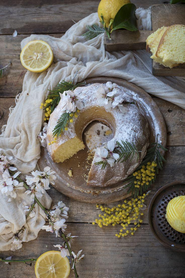 Cream and limoncello Bundt Cake | Ciambellone alla panna e limoncello | @fotogrammi