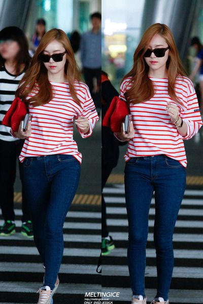 [Appreciation] Jessica Jung's airport fashion - Celebrity Photos - OneHallyu