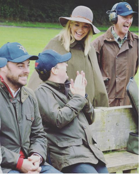 More than £40,000 has been raised by these stars in a charity clay pigeon shoot:  http://bit.ly/2dtxVid