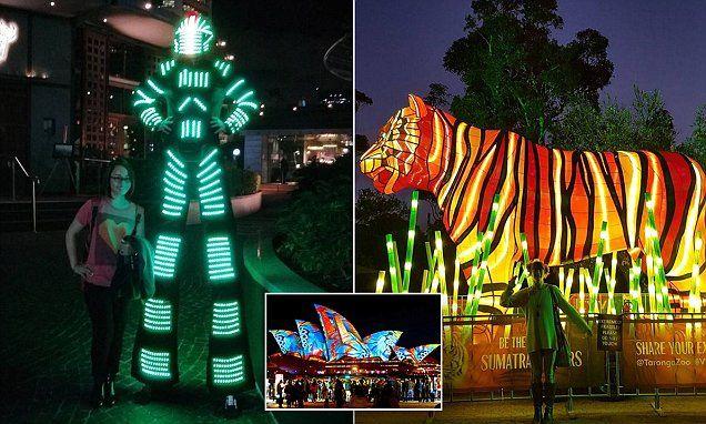 Sydney landmarks aglow for this year's Vivid Festival