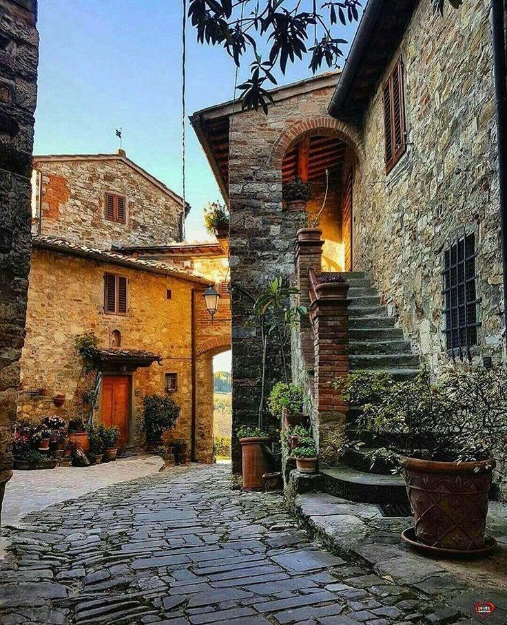 Montefioralle, Toscana, Itália