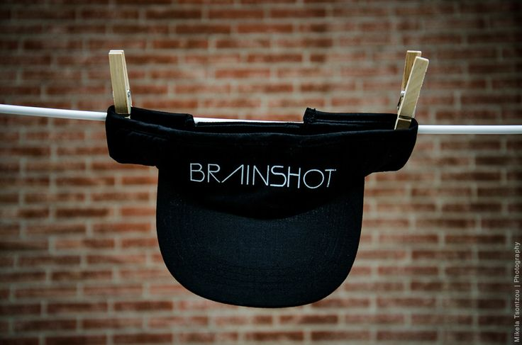 BRAINSHOT VISOR // BLACK