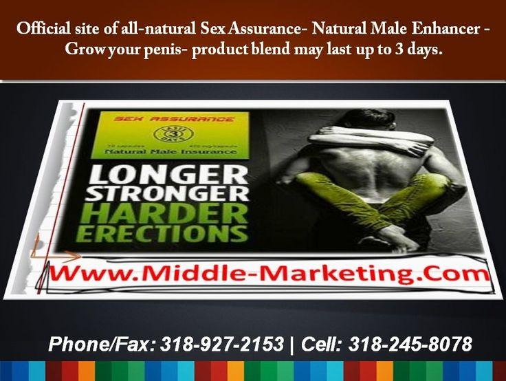 (13) Male Enlargement Pill, Natural Sex Assurance - Tackk