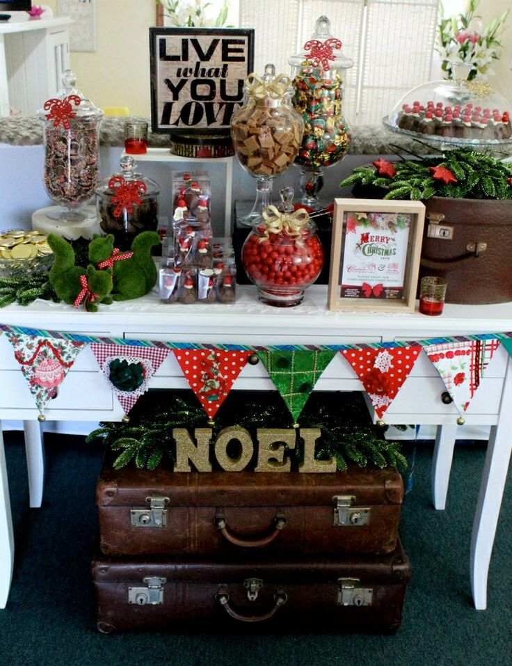 Corporate Christmas Candy Buffet