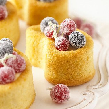 Mini Madeira Bakes with Berries recipe