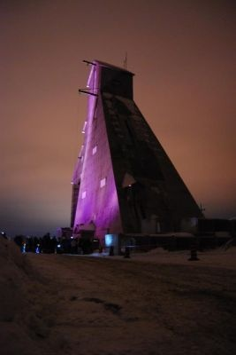 Today is Purple Day for Epilepsy Awareness. McIntyre Head Frame in Timmins, ON, Canada lit in purple for the month of March!