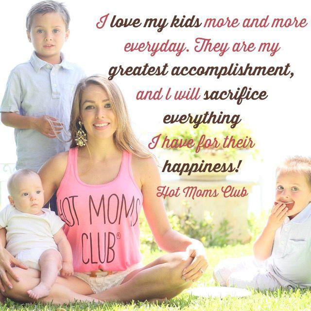Hot Moms Club #mom #mantra