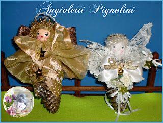 """Angioletti """"PIGNOLINI"""" per ogni occasione, tutti profumatissimi! Mi trovi su FACEBOOK: """"Le Bambole di Moira Solena"""" https://www.facebook.com/LeBamboleDiMoiraSolena/"""