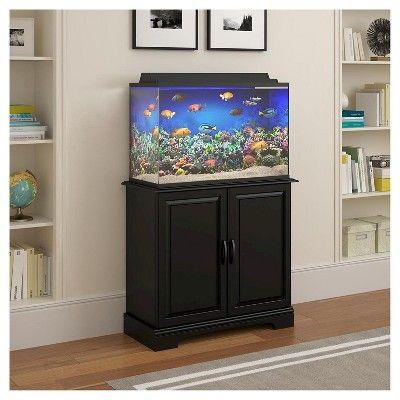 Harbor 29 - 37 Gallon Aquarium Stand - Black - Ameriwood Home