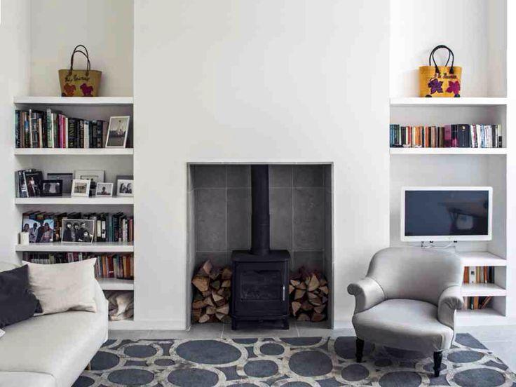 12 poeles a bois tendance pour salon design