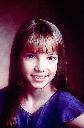 11-year-old Britney Spears was a member of the 'Mickey Mouse Club'.