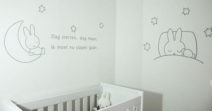 zelf simpele muurschildering maken kinderkamer - Google zoeken