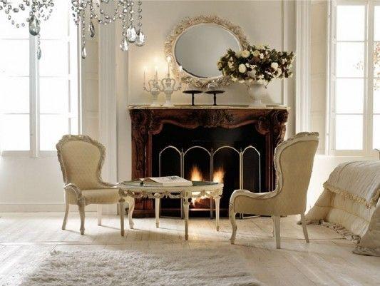 Classic bedroom luxurious created by Italian company Savio Firmino.