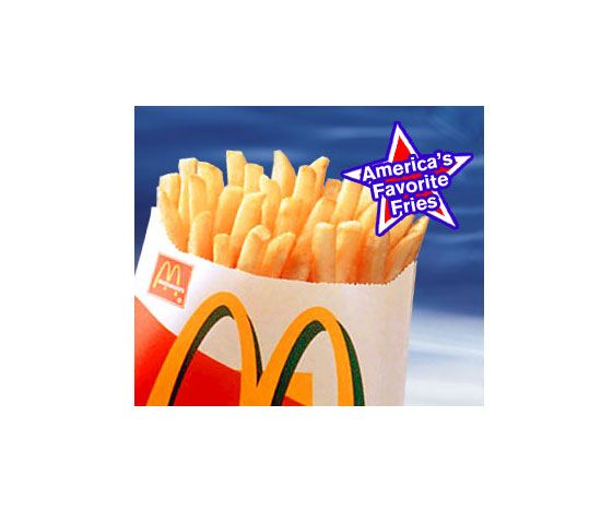 McDonalds SMALL French Fries  230 cal.