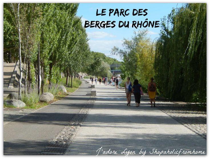 #parks #visitlyon #thingstodo #freelyon #jadorelyon http://shopaholicfromhome.com/my-big-list-of-lyonnais-parcs/ Le Parc des berges du Rhône