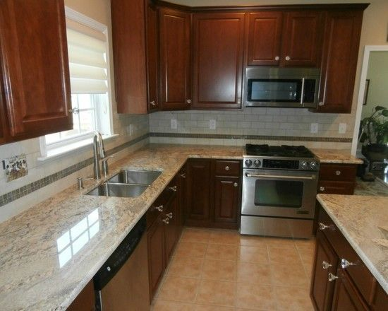 tile for countertops in kitchen 12 best giallo ornamental on cabinets images on 8486