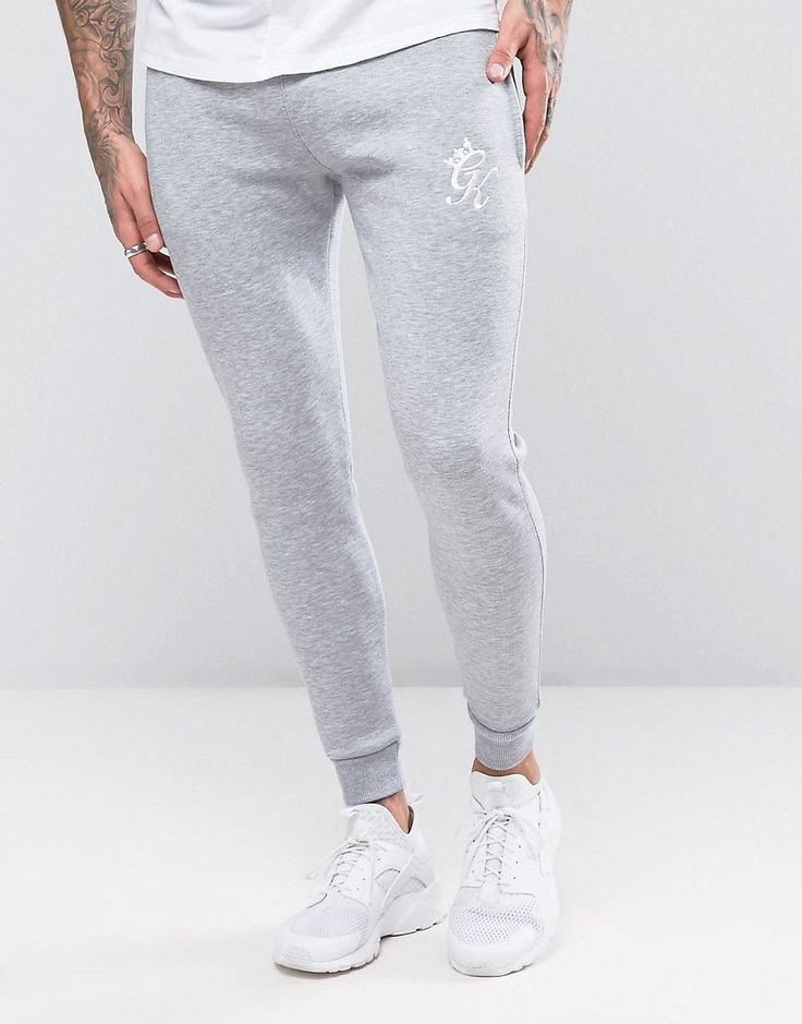 Gym King Joggers In Skinny Fit - Gray