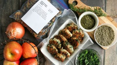 Apple Chicken Nuggets – Paleo Version #obiad #paleo #glutenfree